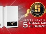 9 TAKSİT Airfel Digifel Premix 24 Kw (20.640 Kcal) Tam Yoğuşmalı Kombi